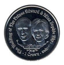 GIBRALTAR - 1 Crown 1999 - Hochzeit Prinz EDWARD und SOPHIE - ANSCHAUEN