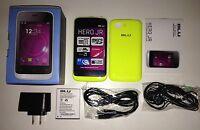 Brand Blu Hero Jr S250 Yellow Unlocked Smartphone Dual Sim Easy To Use