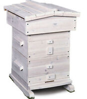 Bee Hive Honey Beekeeping Frame Equipment 18 Frames Beehive Wooden Box