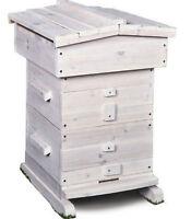 Bee Hive Honey Beekeeping Frame Equipment 18 Frames Beehive Wooden Box