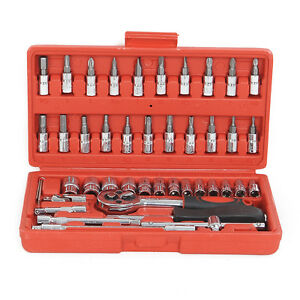 Caja-atornillamiento-Trinquete-para-Casquillo-Topes-Cromo-Vanadio-46-Pc-1-4-039-039