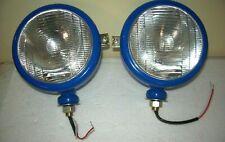 Ford Tractor Head Light Set Lh Rh 12 V Blue