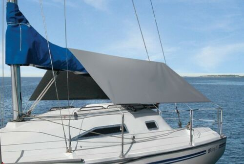 """Sailboat Awning 120/""""W x 128/""""L Water /& UV Resistant Quality Canvas"""