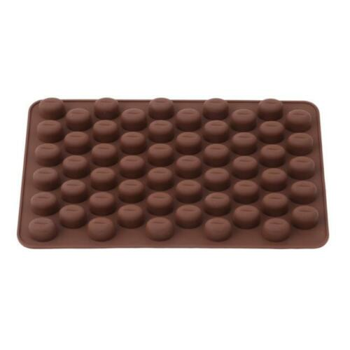 COFFEE BEAN Chocolate Candy Silicone Bakeware Mould Sugarpaste Cake Wax Melts N7
