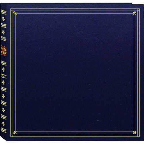 Pioneer Photo Albums MP-46-NB Navy Blue 4x6 / 6 300 Photos Full Size Memo Album