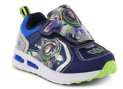 11 or 12  $38 NIB 9 TOY STORY 4 BUZZ LIGHTYEAR Light-Up Sneakers Shoes Sizes 8