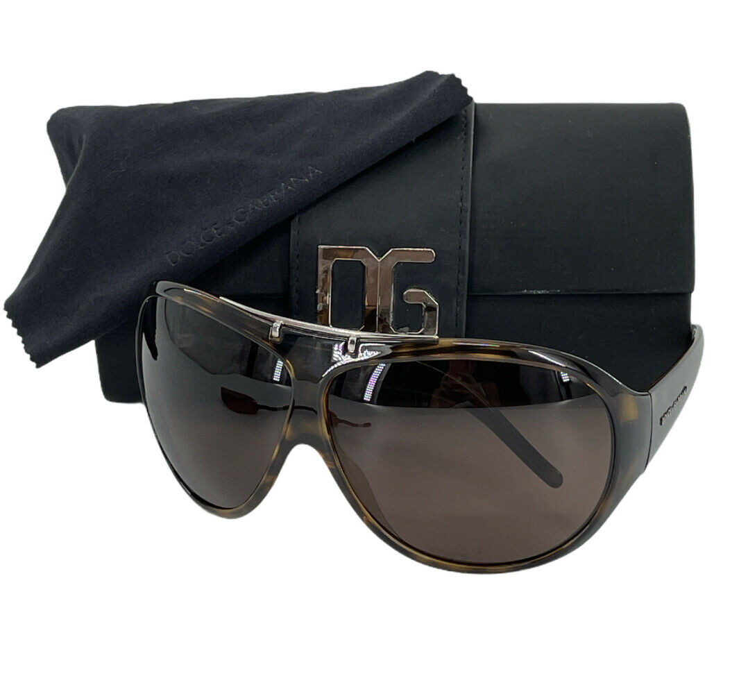 Dolce & Gabbana DG 6004 502/73 125mm Havana (Tortoise) Sunglasses with case