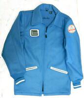 Shelby Cobra World Championship Team Jacket, Original Blue Wool Shell, Size 2xl