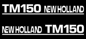 Details about New Holland TM150 tractor decal aufkleber adesivo sticker set