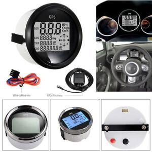 Details about 9-32V IP67 GPS Digital Sdometer Odometer Gauge For Car on