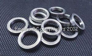 Double Metal Shielded PRECISION Ball Bearing 25x47x8 mm 16005ZZ 10 PCS