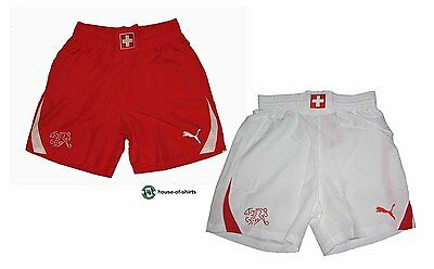 Begeistert Schweiz Suisse Trikot Hose Shorts Short Puma Home Away 2010/11 S M L Xl Xxl Xxxl