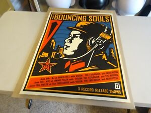 2001-Obey-Shepard-Fairey-ART-Bouncing-Souls-PRINT-18X24-Ministry-of-Information