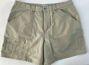Columbia-Women-s-Beige-Khaki-Sport-Active-Hiking-Shorts-Size-16