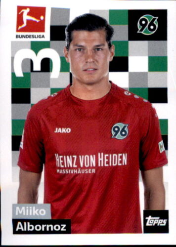 TOPPS Bundesliga 2018//2019 Sticker 111 Miiko Albornoz