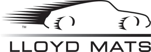 LLOYD Velourtex™ Ebony FRONT FLOOR MATS; fits 2008-2010 Dodge Challenger SRT-8