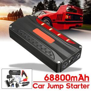 68800mAh-Auto-Jump-Starter-Booster-Batteria-Avviatore-Emergenza-Torcia-600A-Peak