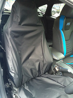 Tailored Protective RECARO Seat Cover Honda Civic Type R FN2 FD2 Black Plain