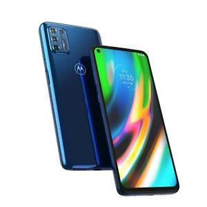 Motorola Moto G9 Plus XT2087-1 128GB GSM Unlocked Android Phone - Indigo Blue