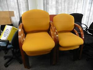 OFFICE-CHAIR-YELLOW-BRISBANE
