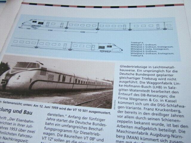 Lokaufriss STR 7 DB V 200.0 Diesellok gemischtrer Deinst 1953