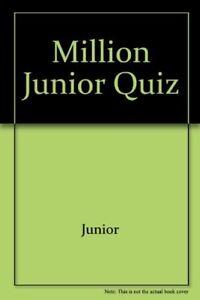Very-Good-Million-Junior-Quiz-Junior-Book