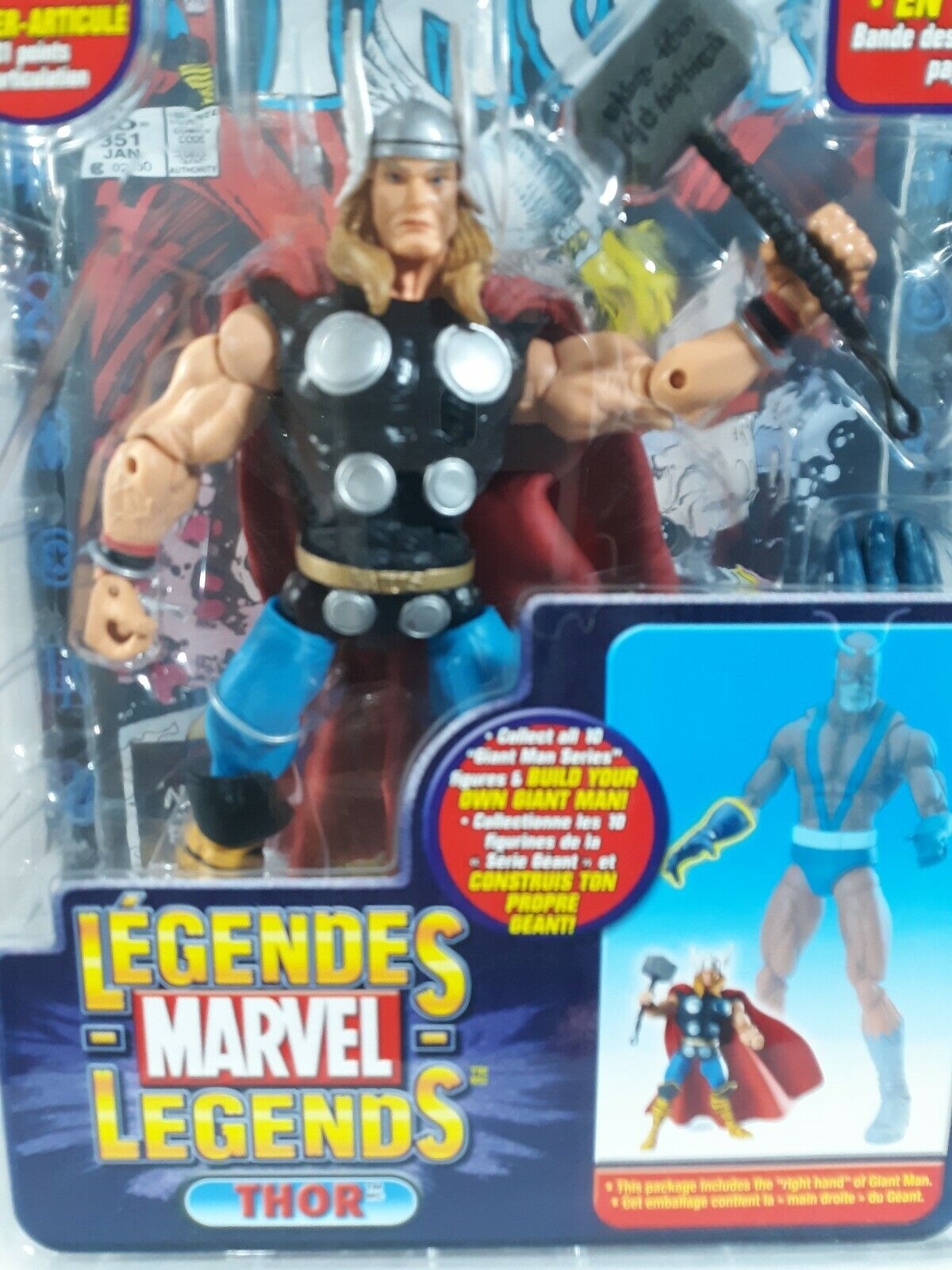 Marvel Legends Thor  Giant Man Series Action Figure Toy Biz  NEW A15