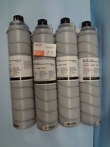 LOT 4 RICOH TONER 841332 1060 1075 2051 2060 TYPE 6110D MP 6000 7000 7500 8000