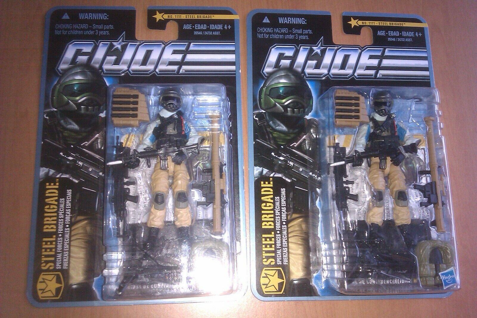 GI Joe Steel Brigade Trooper Lot Special Forces POC Pursuit of Cobra G.I. Army