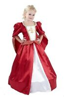 GIRLS MUSKETEER TUDOR ELIZABETHAN VICTORIAN PRINCESS FANCY DRESS COSTUME