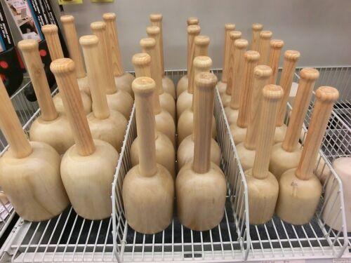 Klopfholz Bildhauer-Klüpfel Holzklüpfel rund 80 mm