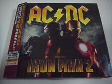 AC/DC-Iron Man 2 JAPAN 1st.Press w/OBI DVD KIss Iron Maiden Black Sabbath Rush