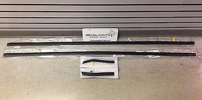 Toyota Tundra CrewMax Door Belt Moulding 4pc Kit Set Weatherstrip Genuine OEM OE