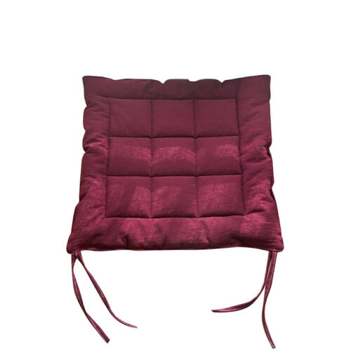 40x40cm Japan Style Pure Cotton Linen Multi-purpose Chair Cushion Chair Pad 6A