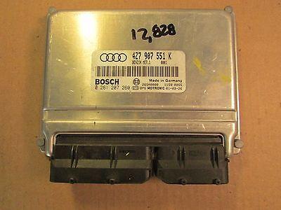 Engine Computer 2001 Audi Allroad 2.7T Stage 2 ECU 4Z7 907 551 K 4Z7907551K