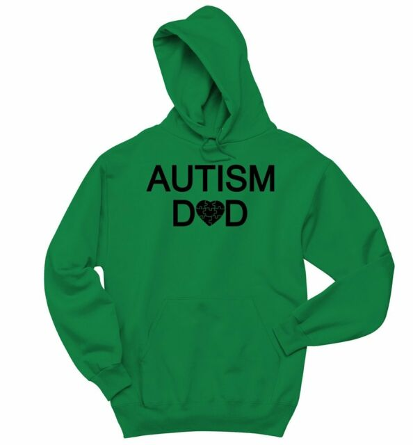 Autism Awareness Hoodie Support The Cause Autism Dad