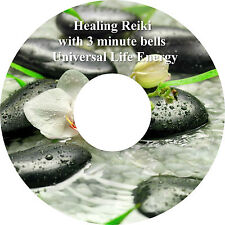 Healing Reiki Music with 3 Minute Bells Relaxation CD Stress Relief Massage Spa