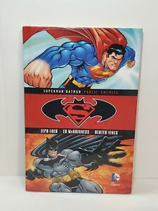 SUPERMAN / BATMAN: PUBLIC ENEMIES HARDCOVER Blu Ray DVD Set Book & Movie DC HC