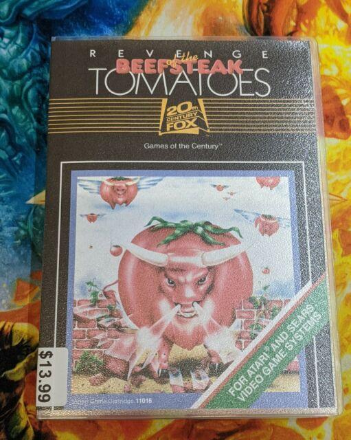 Revenge of the Beefsteak Tomatoes (Atari 2600, 1983)