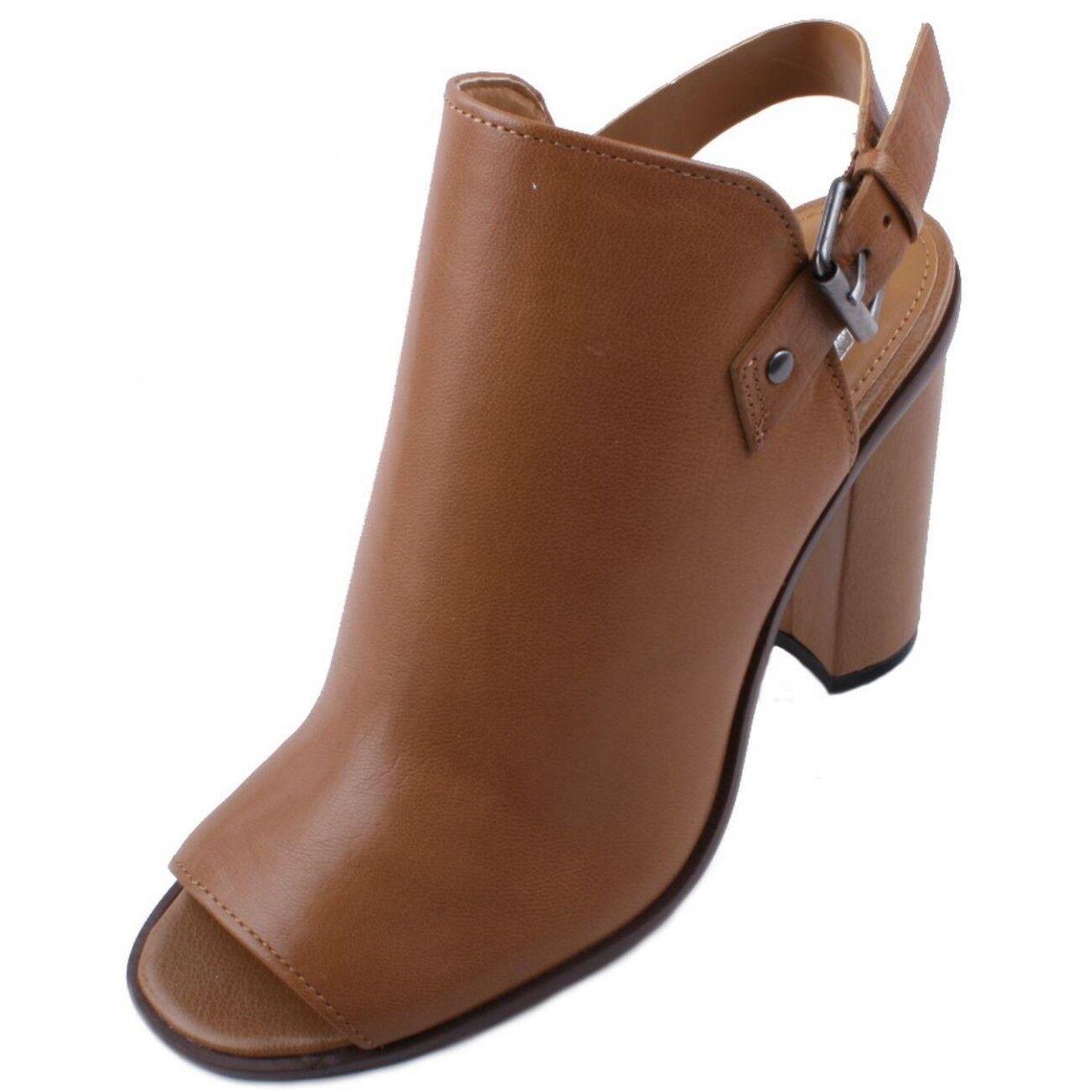 fornire un prodotto di qualità Dolce Vita Whittney donna Cognac Leather Slingback Slingback Slingback High Heel Shooties Dimensione 7  negozio outlet