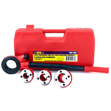 Hfsr Pipe Threader Tool Kit Ratchet Handle 3 Dies Set 12 34 1 Case