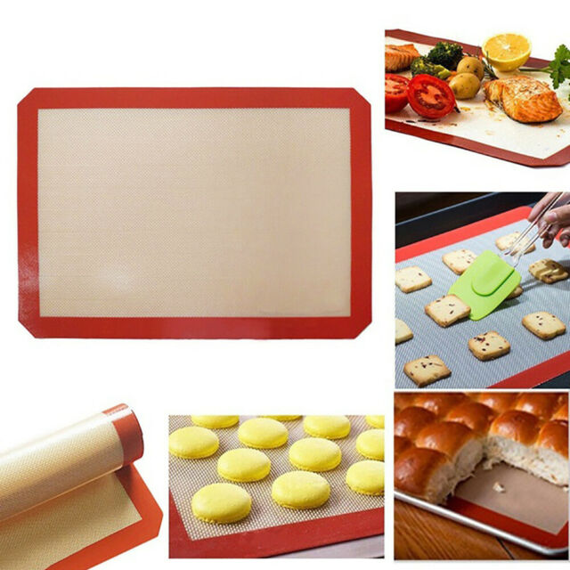 Silicone Baking Liner Mats Non-Stick Heat Resistant Kitchen Bakeware Oven Sheet