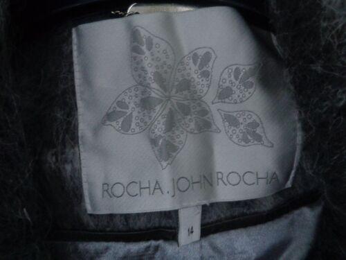 4 John 14 Nuovo Coat 179 Mix Lunghezza Size 3 Grigio Rocha FqgWIpp