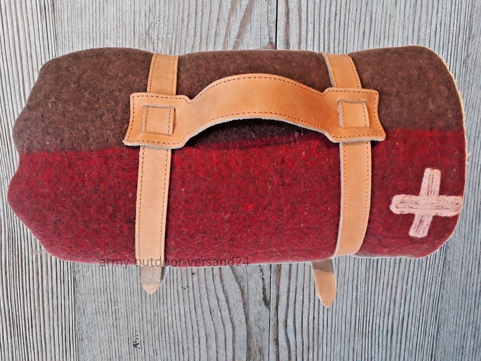 2cfe2167c670e9 TAPPETO Originale coperta cavalli con alta qualità di cuoio NUOVO Esercito  Svizzero novaxh8062-Altre attrezzature