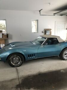 1968 Blue Corvette Stingray