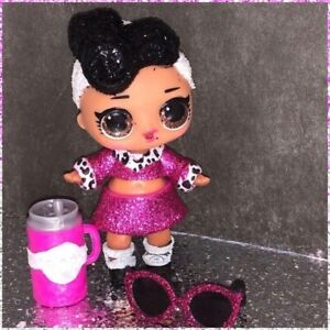 LOL-Surprise-Bling-Series-Dolls-DOLLFACE-Doll-Face-Glitter-NEW-Sealed-Bags-Ball