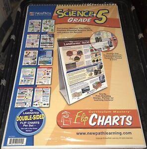 NewPath Learning Math Curriculum Mastery Flip Chart Set Grade 2