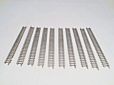 10x 8500 Retto Binario 110 Mm Märklin Mini-club Traccia Z + + Top-mostra Il Titolo Originale