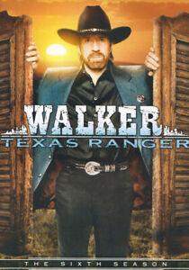 Walker-Texas-Ranger-Season-6-Keepcase-New-DVD