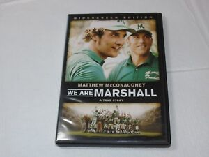 We-Are-Marshall-DVD-2007-Widescreen-Edition-Drama-Rated-PG-Matthew-McConaughey